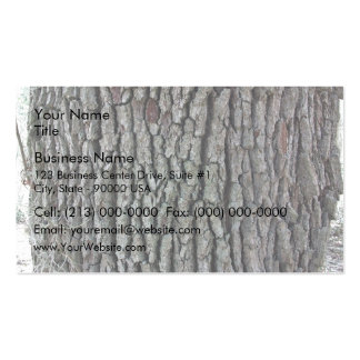 Bark of an old tree business card