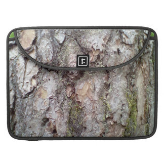 bark of Scots pine Sleeve For MacBook Pro
