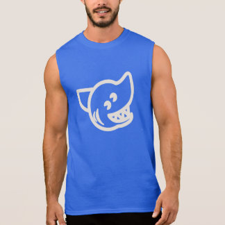 Bark On Surf Dog Sleeveless T-shirt