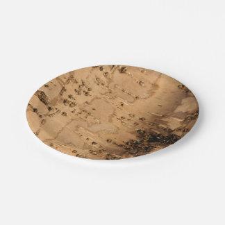Bark Paper Plate