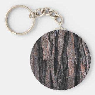 Bark Pattern Key Chains