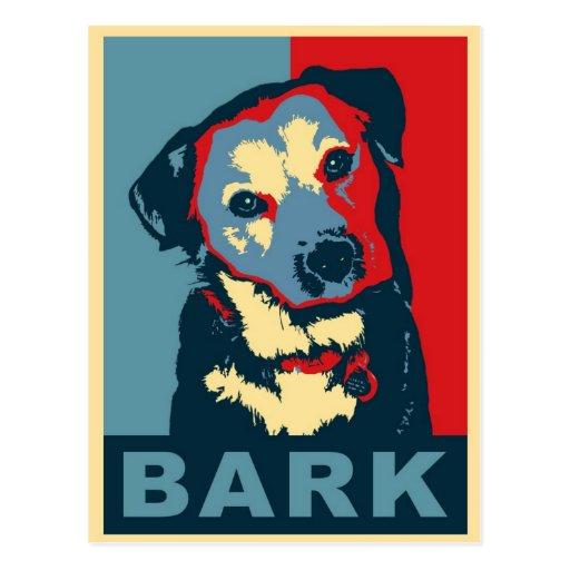 Bark! Post Card