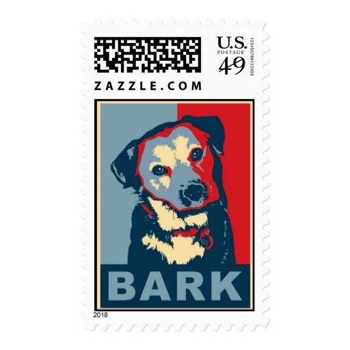 Bark! Postage Stamps