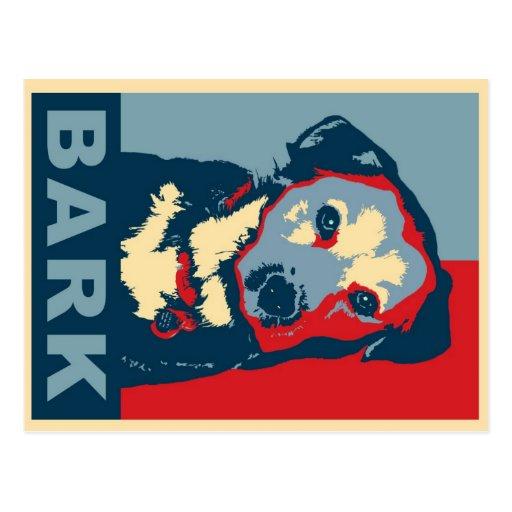Bark!  Postcard