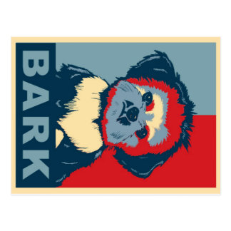 Bark!  Shih Tzu Postcard