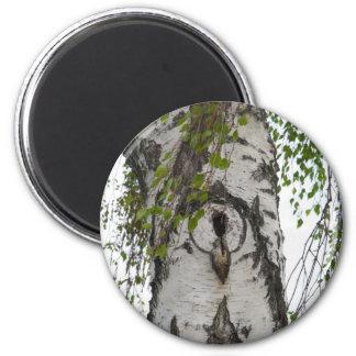 BARK TREE 2 INCH ROUND MAGNET