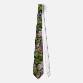 Bark tree neck tie