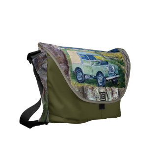 Bark/Truck Cab/Weather's Liberty Motto Messenger Bag