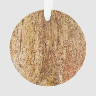 Bark wooden pattern ornament