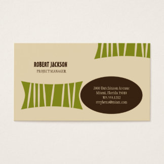 Barkcloth Business Card