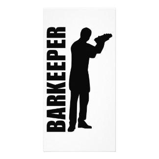 Barkeeper bartender photo cards