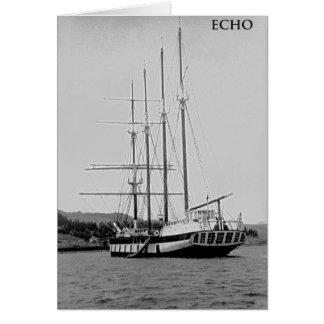 Barkentine Echo Card