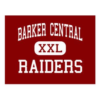 Barker Central - Raiders - High - Barker New York Postcard