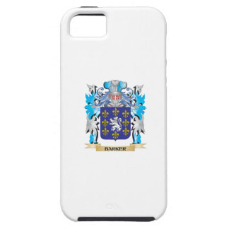 Barker Coat of Arms iPhone 5/5S Cases