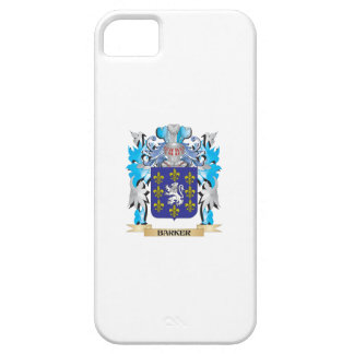 Barker Coat of Arms iPhone 5 Covers