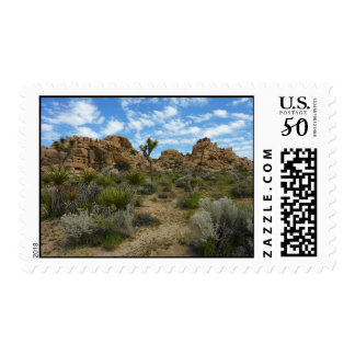 Barker Dam Loop Trail at Joshua Tree National Park Postage