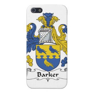 Barker Family Crest Cases For iPhone 5