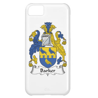 Barker Family Crest Cover For iPhone 5C