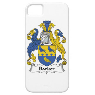 Barker Family Crest iPhone 5 Covers