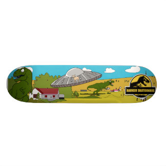 Barker Skateboards (Jurassic Attack) Design