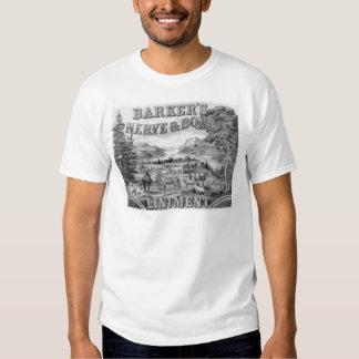 Barker's Liniment 1883 Tee Shirts