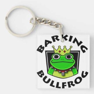 Barking Bullfrog Keychain
