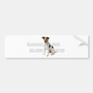 Barking Dog seldom bites Bumper Sticker