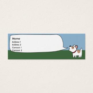 Barking Dog - Skinny Mini Business Card