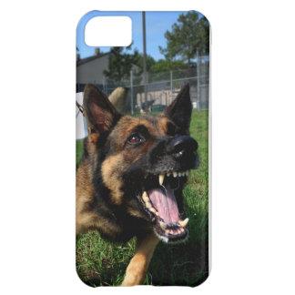 Barking German Shepherd iPhone 5C Covers