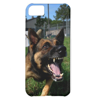 Barking German Shepherd Cover For iPhone 5C