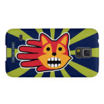Hand shaped Barking Red Fox Galaxy S5 Cover