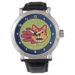 Hand shaped Barking Red Fox Wristwatch