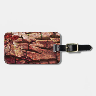 Barking up the wrong tree luggage tag