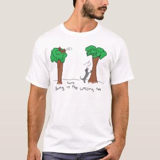 barking up the wrong tree T-Shirt