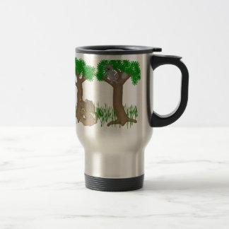 barking up the wrong tree travel mug