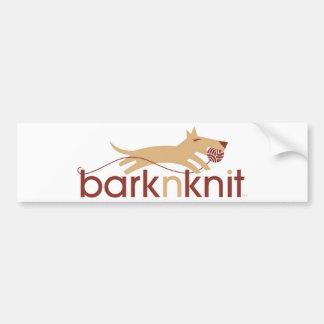 Barknknit Bumper Sticket Bumper Sticker
