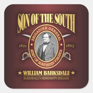 Barksdale (SOTS2) Square Sticker