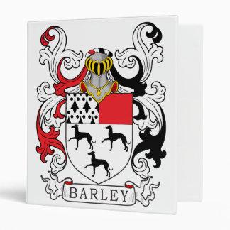 Barley Family Crest 3 Ring Binders