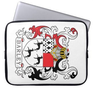 Barley Family Crest Computer Sleeves