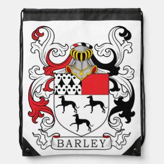 Barley Family Crest Drawstring Bags