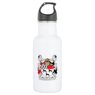 Barley Family Crest Stainless Steel Water Bottle