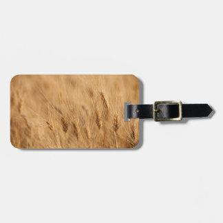 Barley field bag tag