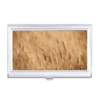 Barley field business card holder