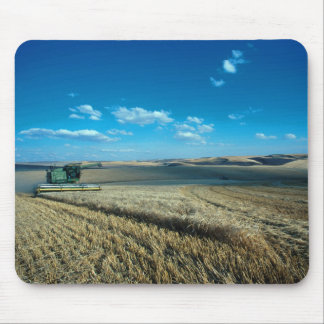 Barley harvest mouse pad