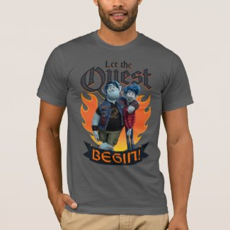 Barley & Ian - Let the Quest Begin T-Shirt