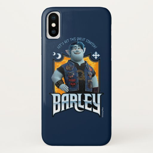 Barley - Let's Get this Quest Started iPhone X Case