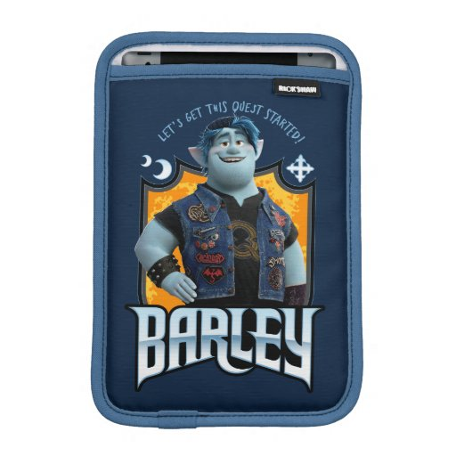 Barley - Let's Get this Quest Started iPad Mini Sleeve