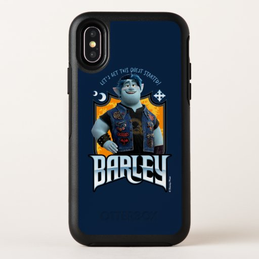 Barley - Let's Get this Quest Started OtterBox Symmetry iPhone X Case