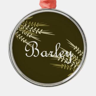 Barley Metal Ornament