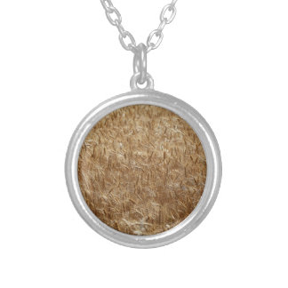Barley Round Pendant Necklace